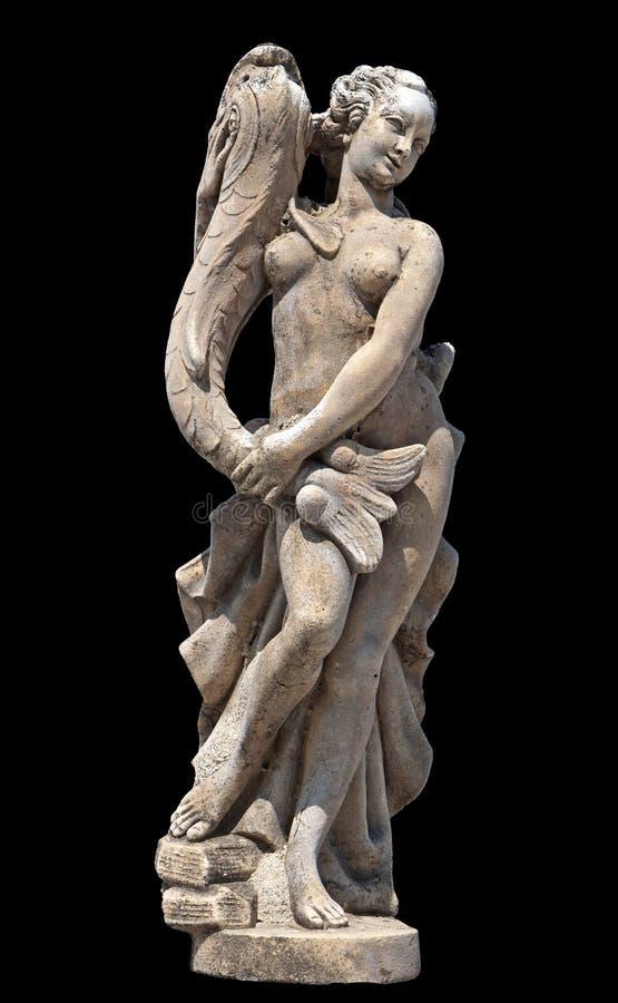 Estátua arcaica grega do Afrodite fotografia de stock royalty free