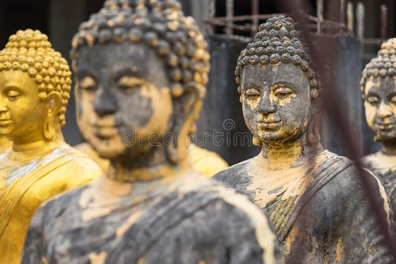 estátua buda no templo tailandês fotos de stock royalty free