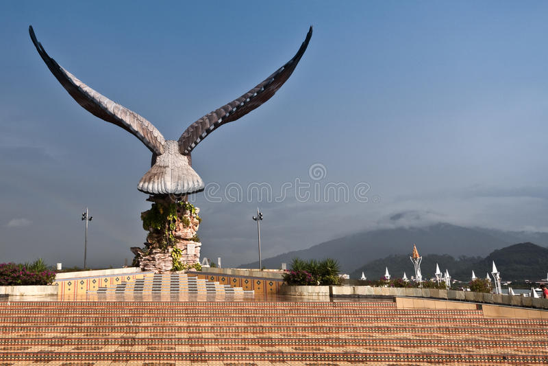 Estátua da águia foto de stock royalty free