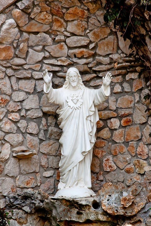 Estátua da bênção de Jesus Christ imagem de stock royalty free