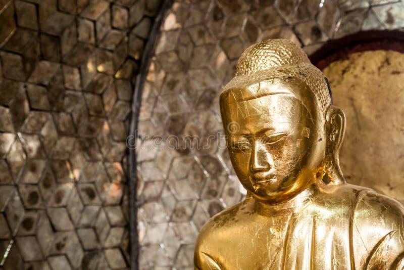 Estátua da Buda, Burma fotografia de stock