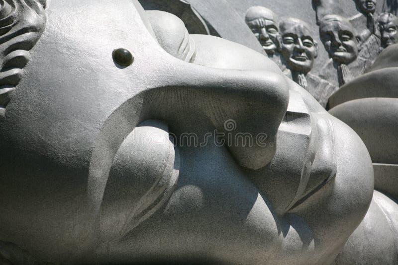 Estátua da Buda em Nha Trang, Vietname fotografia de stock royalty free