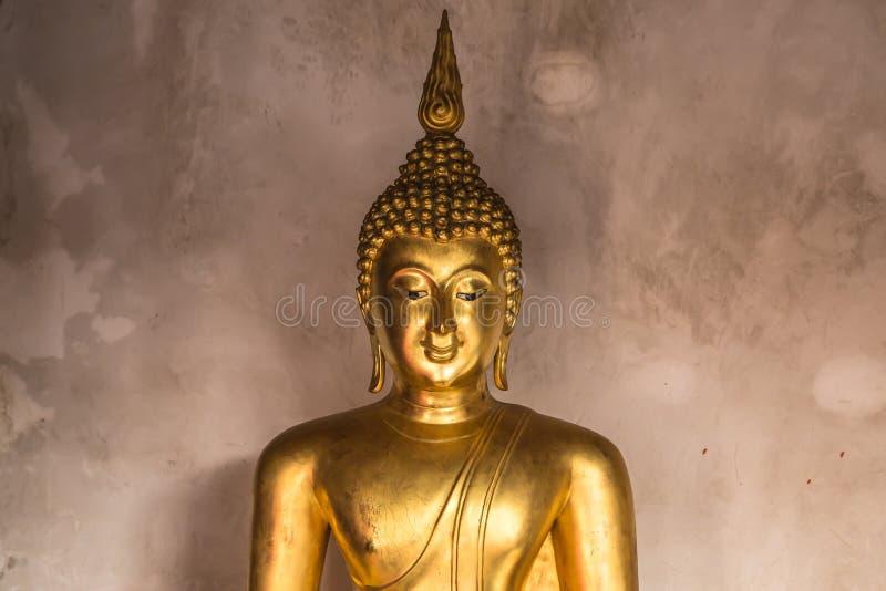 Estátua da Buda em Tailândia fotos de stock royalty free