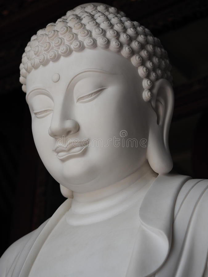 Estátua da Buda, religião do budismo imagens de stock royalty free