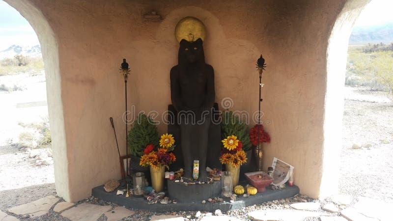 Estátua da deusa de Sekhmet fotos de stock