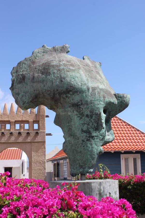 Estátua da escravidão imagem de stock