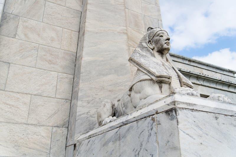 Estátua da esfinge de Egito fotografia de stock