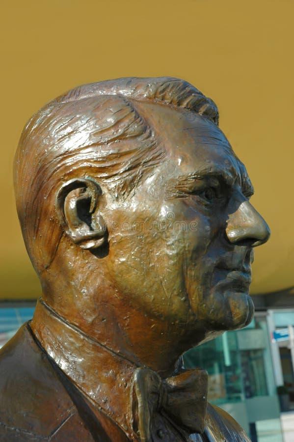 Estátua da estrela de Cary Grant Hollywood fotografia de stock