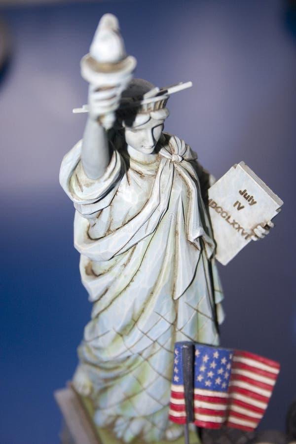 Estátua da figura da liberdade foto de stock