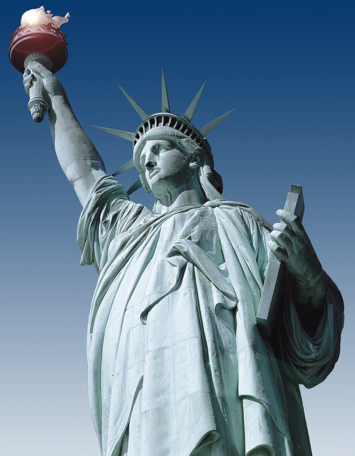 Estátua da liberdade ilustração royalty free