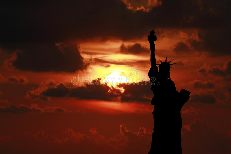 Estátua da liberdade fotos de stock