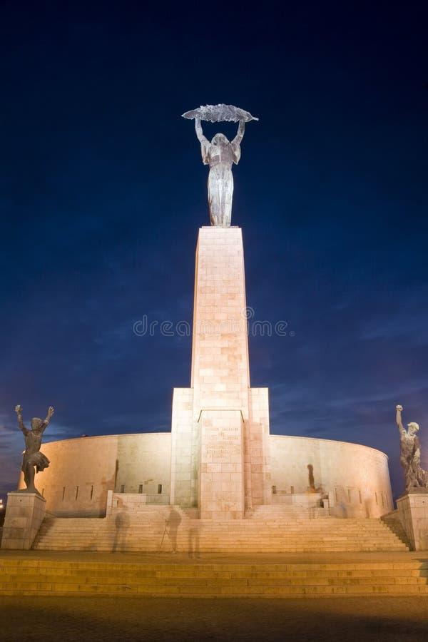 Estátua da liberdade - Budapest, Hungria foto de stock royalty free