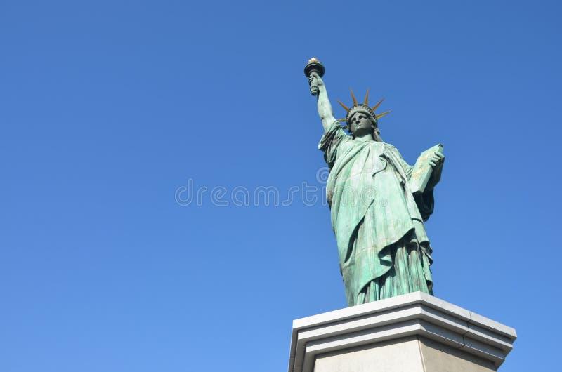 A estátua da liberdade, Tóquio fotos de stock