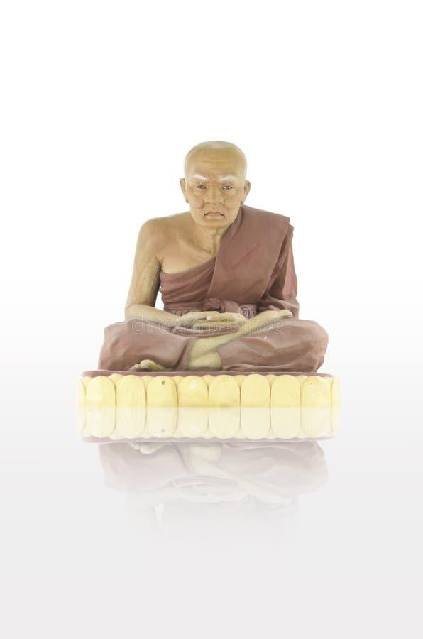 Estátua da monge imagem de stock