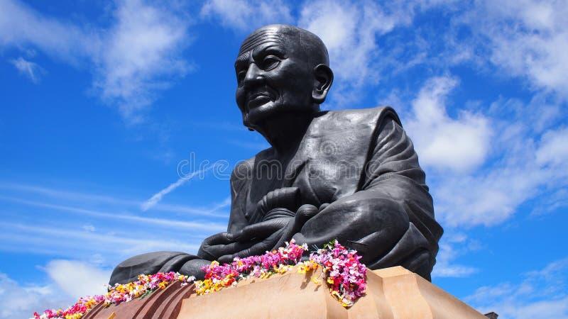 Estátua da monge imagens de stock royalty free