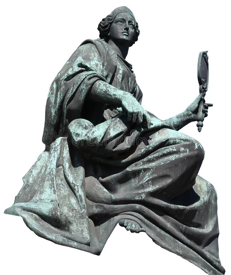 Estátua da mulher fotografia de stock