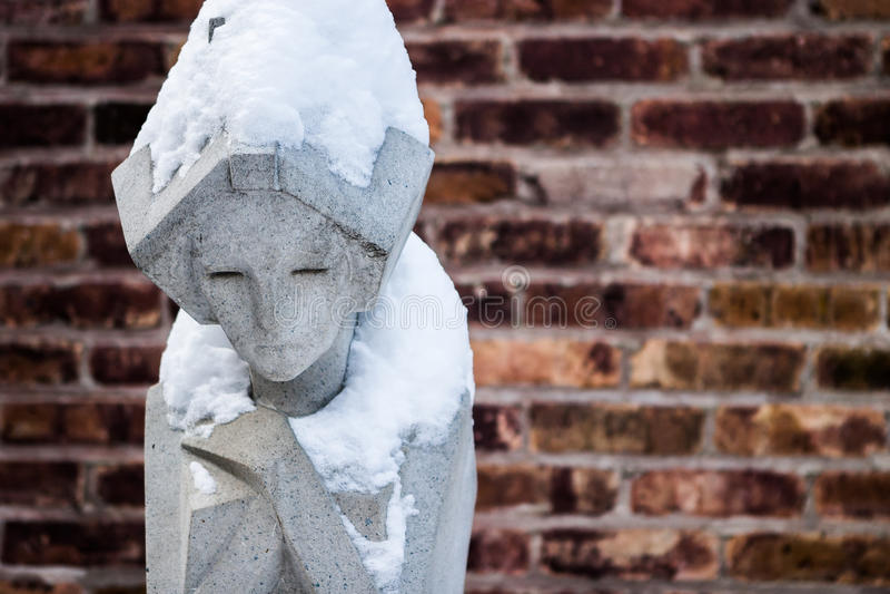 Estátua da mulher imagem de stock royalty free
