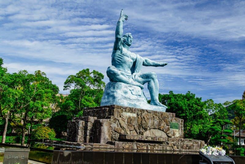 A estátua da paz imagem de stock royalty free