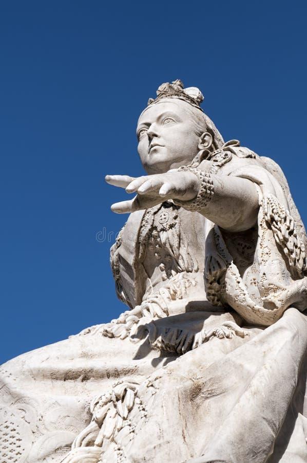 Estátua da rainha Victoria imagem de stock royalty free