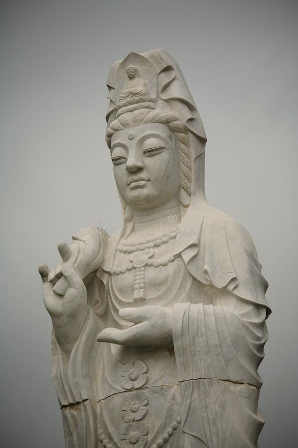 Estátua da senhora fotografia de stock royalty free