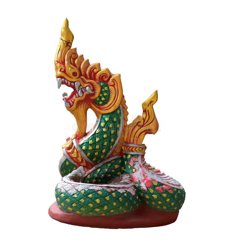 Estátua da serpente imagens de stock