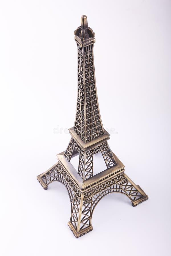 Estátua da torre Eiffel imagens de stock royalty free