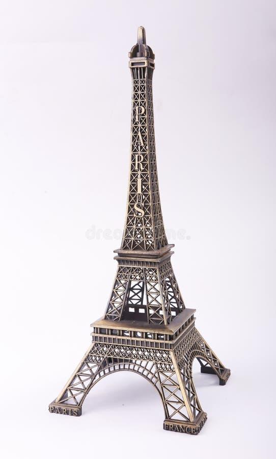 Estátua da torre Eiffel fotografia de stock