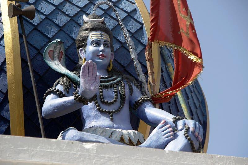 Estátua de abençoar Shiva fotografia de stock royalty free