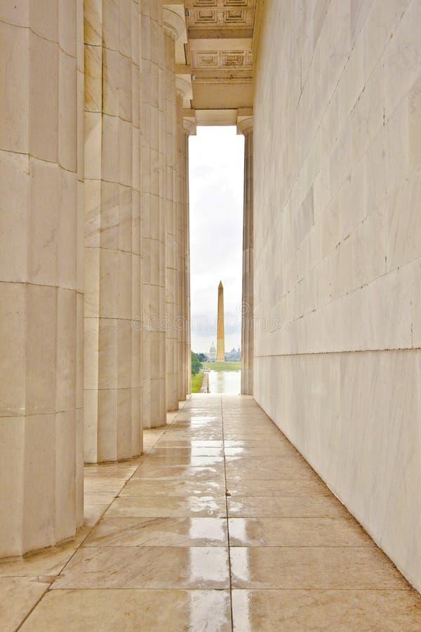 Estátua de Abraham Lincoln em imagem de stock royalty free