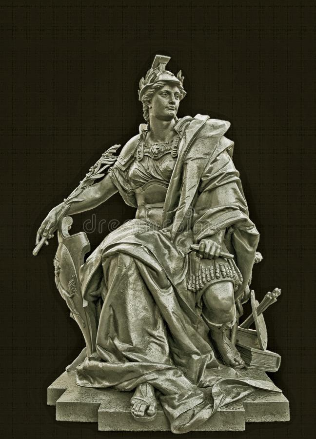 Estátua De Alexander No Preto Domínio Público Cc0 Imagem