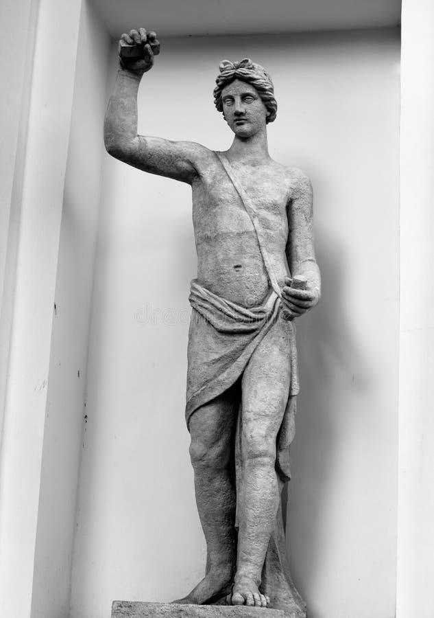 Estátua de Apollon foto de stock