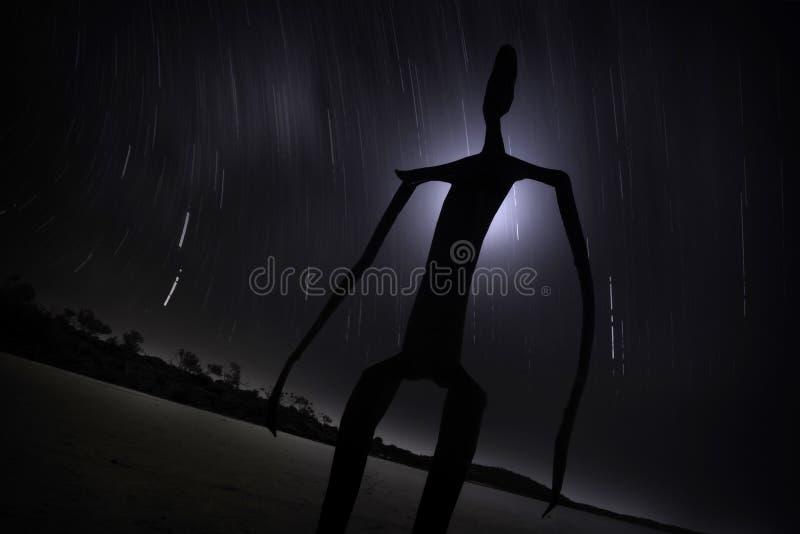 Estátua de Ballard do lago foto de stock royalty free