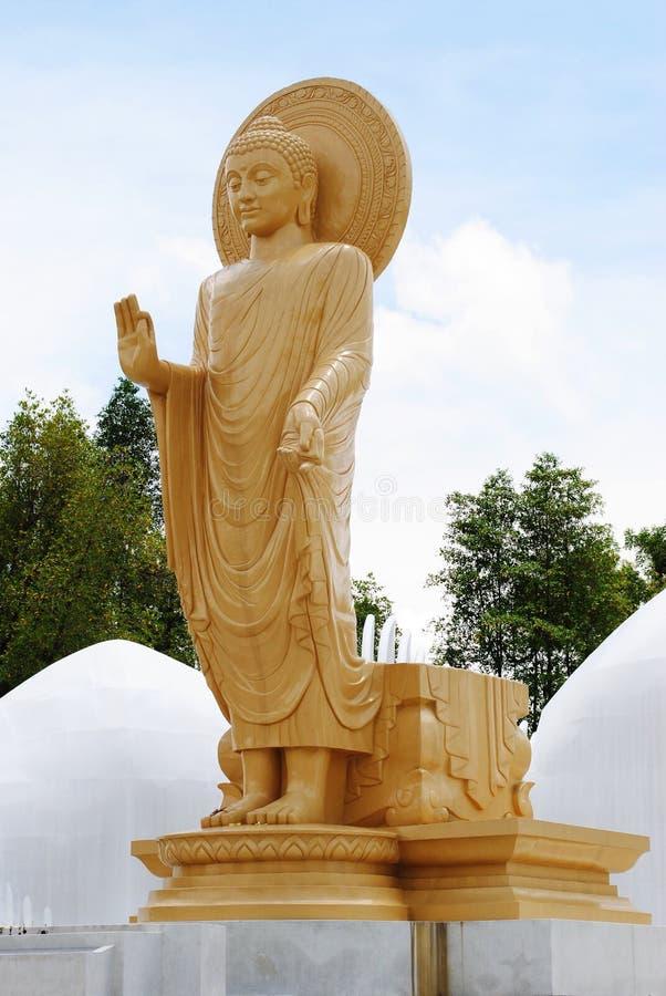 Estátua de Bhudda imagens de stock royalty free