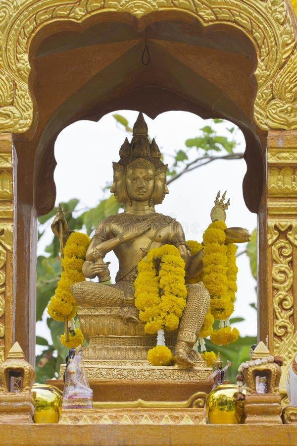 Estátua de Brahma foto de stock royalty free