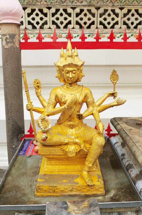 Estátua de Brahma fotos de stock royalty free