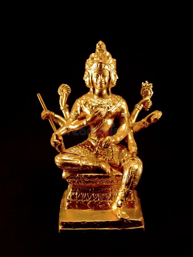 Estátua de Brahma buddha fotos de stock