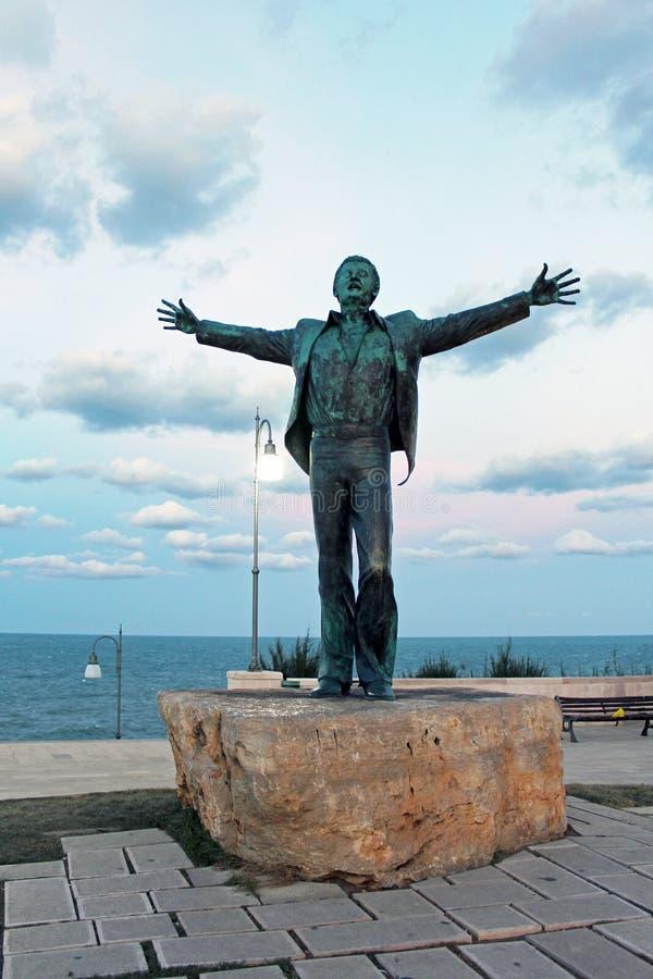 Estátua de bronze foto de stock royalty free