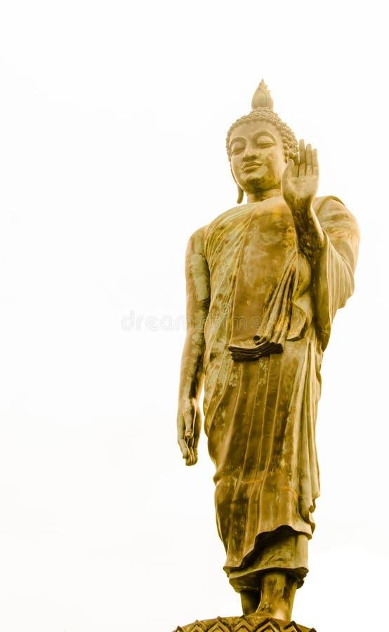 Estátua de bronze da Buda imagens de stock