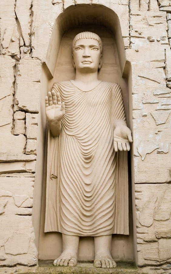 Estátua de Budda fotografia de stock