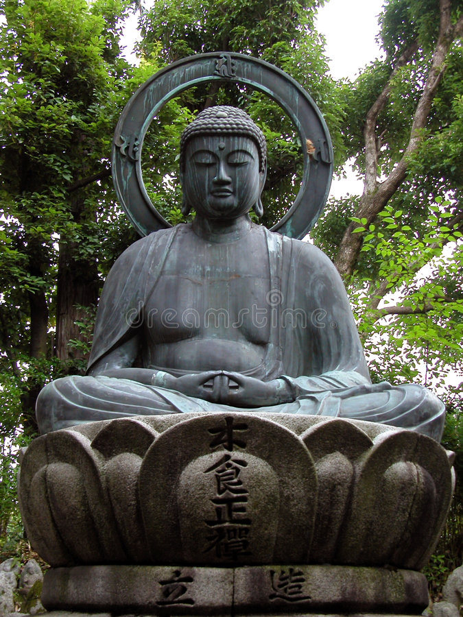 Estátua de Buddha imagens de stock