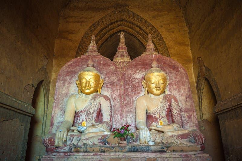 Estátua de Buddha, Bagan, Myanmar fotos de stock royalty free