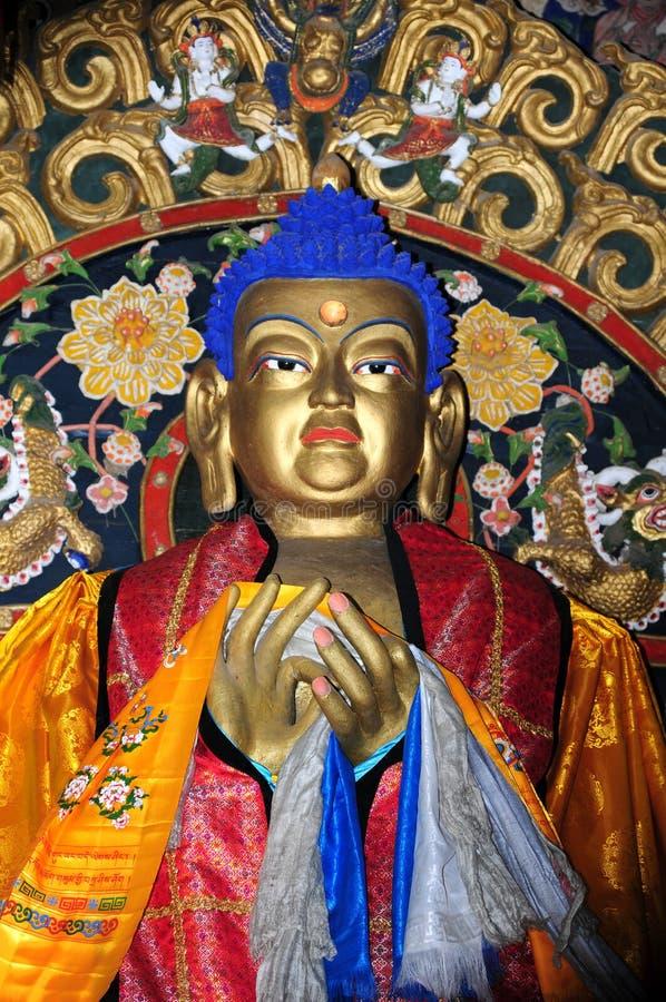 Estátua de Buddha no monastério de Erdenezuu em Mongolia foto de stock royalty free