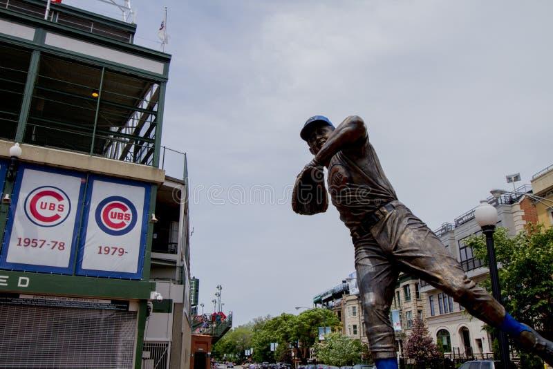 Estátua de Cubs fotos de stock