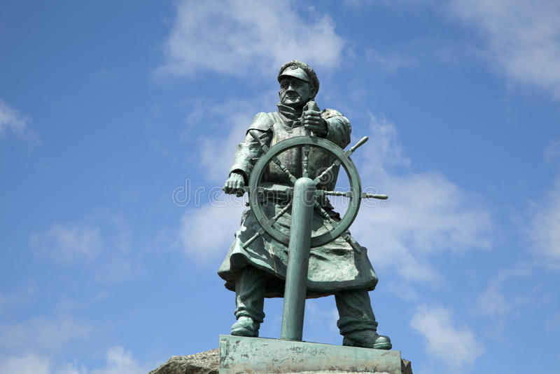 Estátua de Dic Evans fotos de stock royalty free