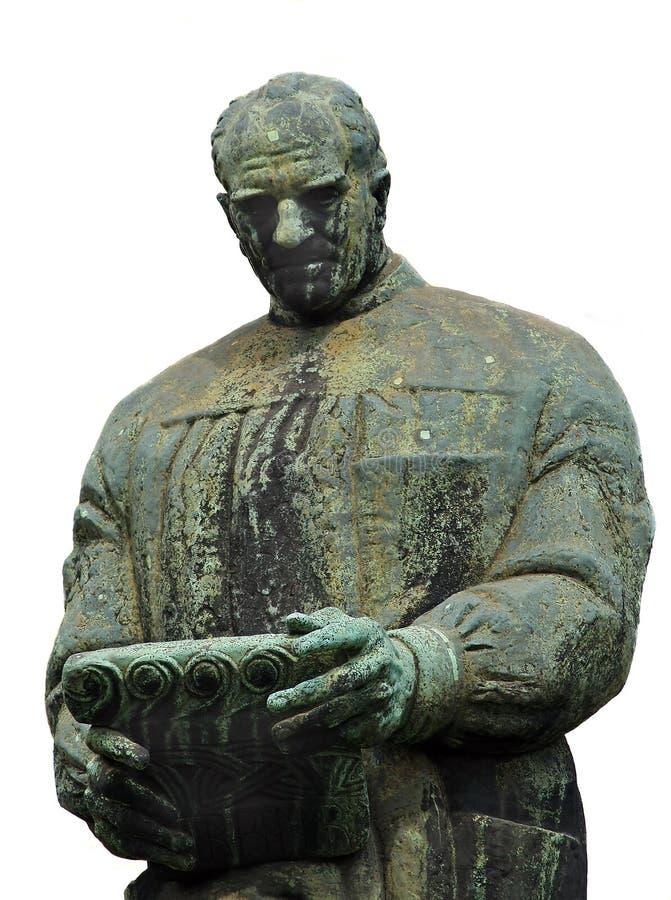 Estátua de Don Frano Bulic foto de stock