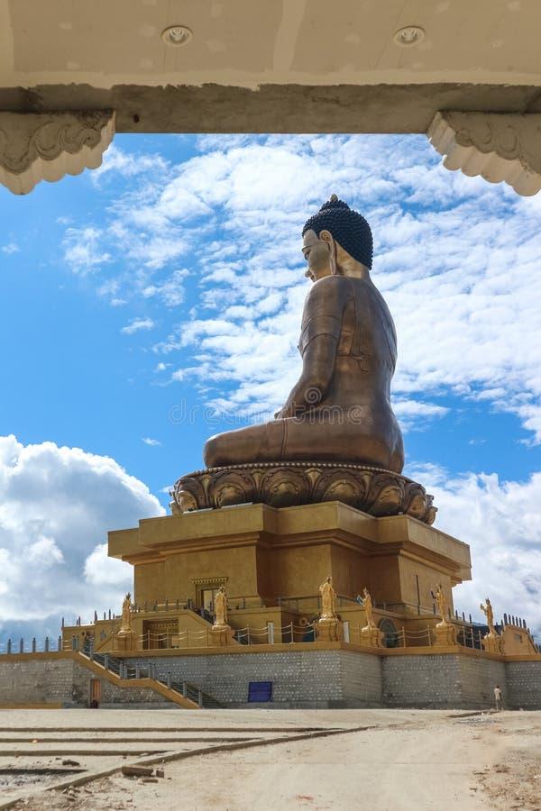 Estátua de Dordenma da Buda foto de stock royalty free