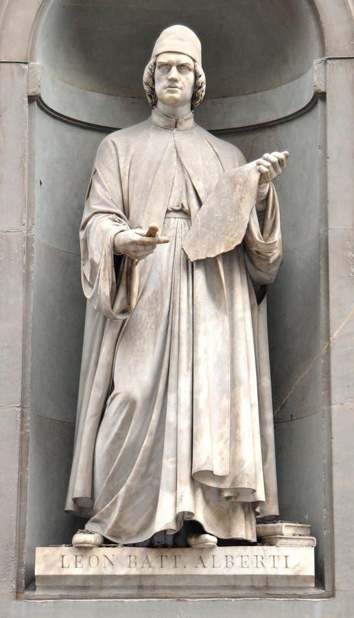 Estátua de Florença fotografia de stock
