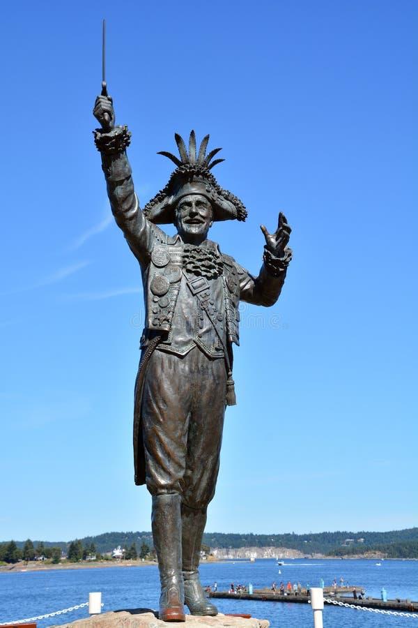 Estátua de Frank James Ney foto de stock royalty free