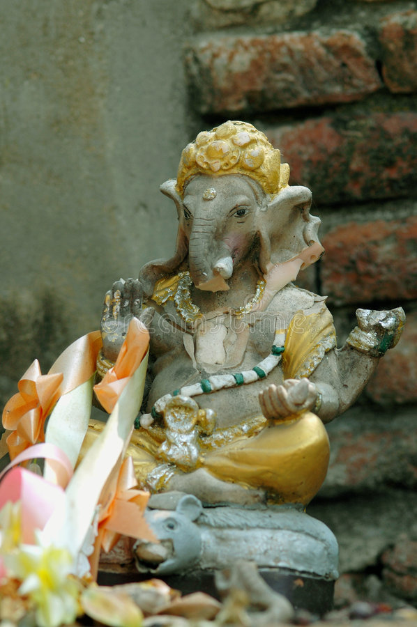 Estátua de Ganesh foto de stock royalty free