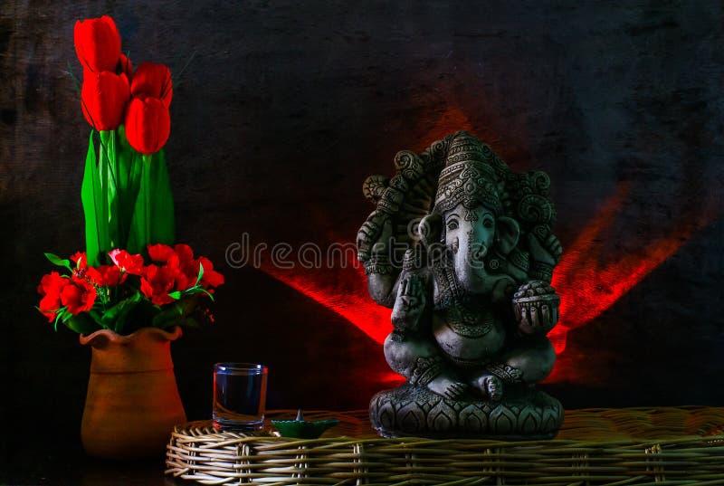 Estátua de Ganesh fotos de stock